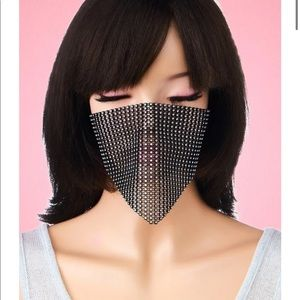 Diamond Mask Cover + Fashion Mask